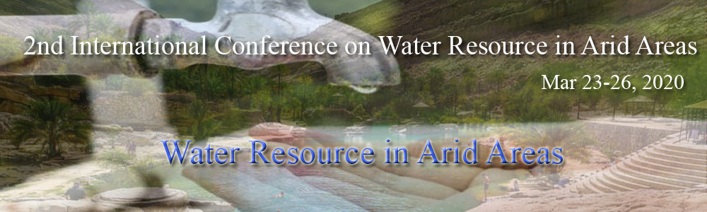 The 2nd International Conference on Water Resources in Arid Areas